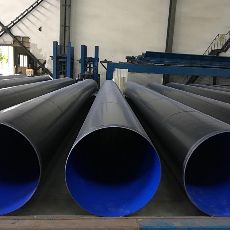 大口径内外涂塑复合钢管 实体厂家 给水涂塑管 质量保证 比耐斯管业