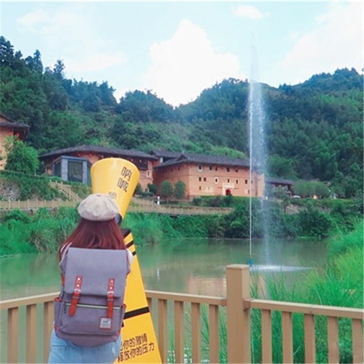 景区人工喊泉30米价格 声呐喷泉设备价格 抖音网红项目推荐