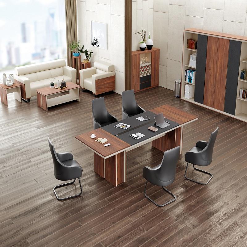 伟豪家具 老板桌 经理桌 洽谈桌 厂家直销 质保五年