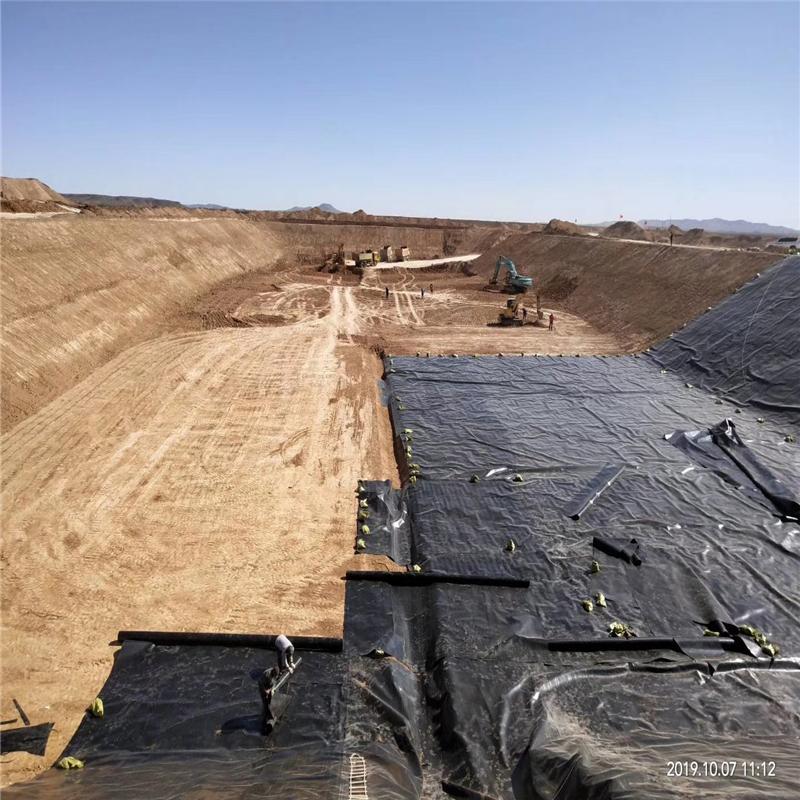 全新料hdpe土工膜价格 抗老化填埋场垃圾覆盖膜