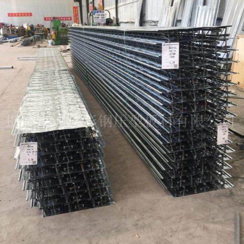 桁架楼承板大量批发 通盛彩钢 可拆模桁架楼承板生产商