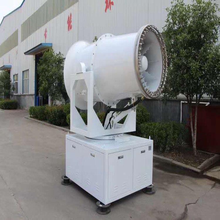 远程喷雾机 福建漳州 60米全自动除尘雾炮机厂家