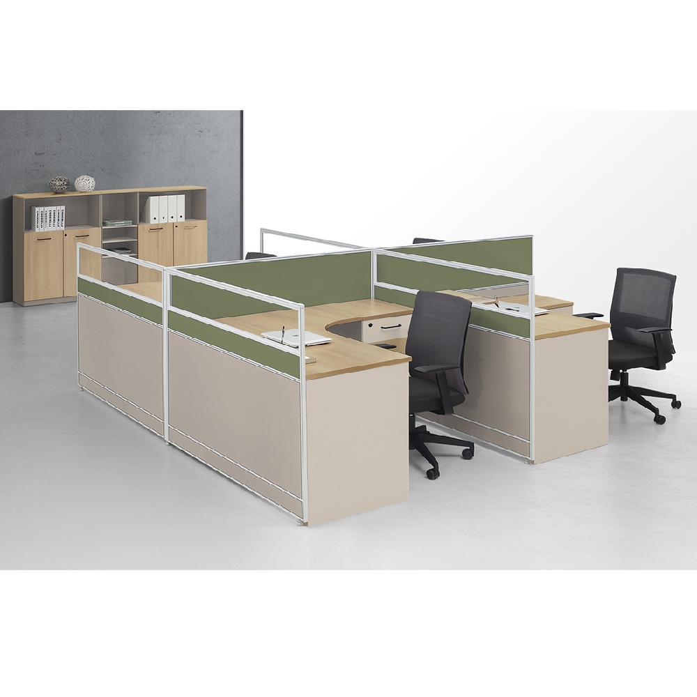 广东屏风卡位办公桌 工位办公桌屏风隔断 广州林宇家具