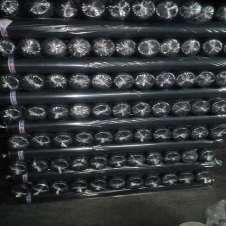 190涤塔夫染色涂层箱包里布现货供应190T涤塔夫黑色60G和72克已过胶价真货实箱包手带布