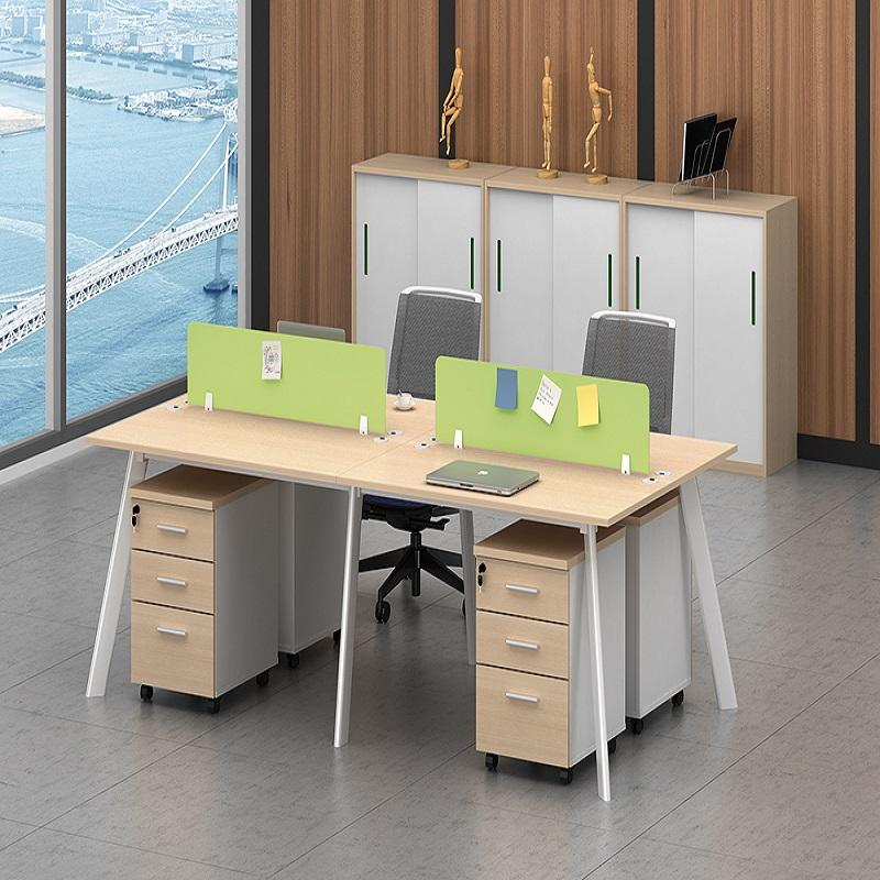 厂家直销-四人办公桌-质保十年-欢迎咨询