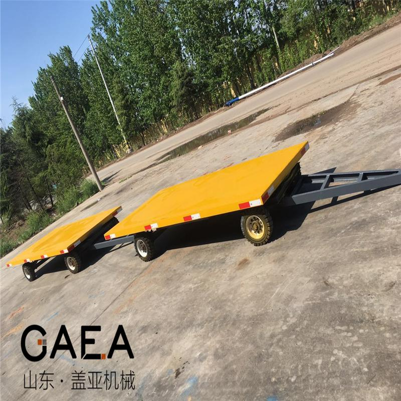 6吨平板车拖车盘图片