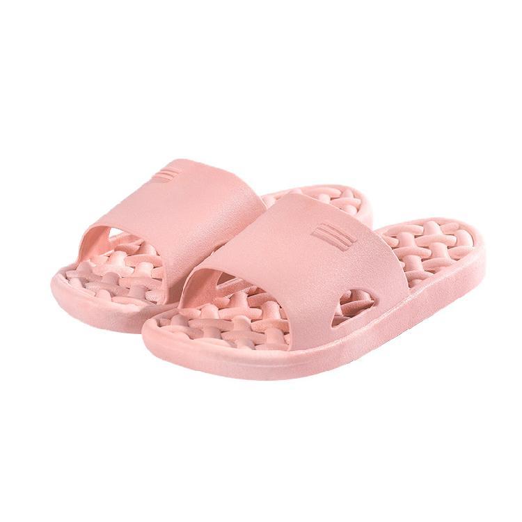 浴室拖鞋家居拖鞋女PVC居家用浴室洗澡防滑耐磨
