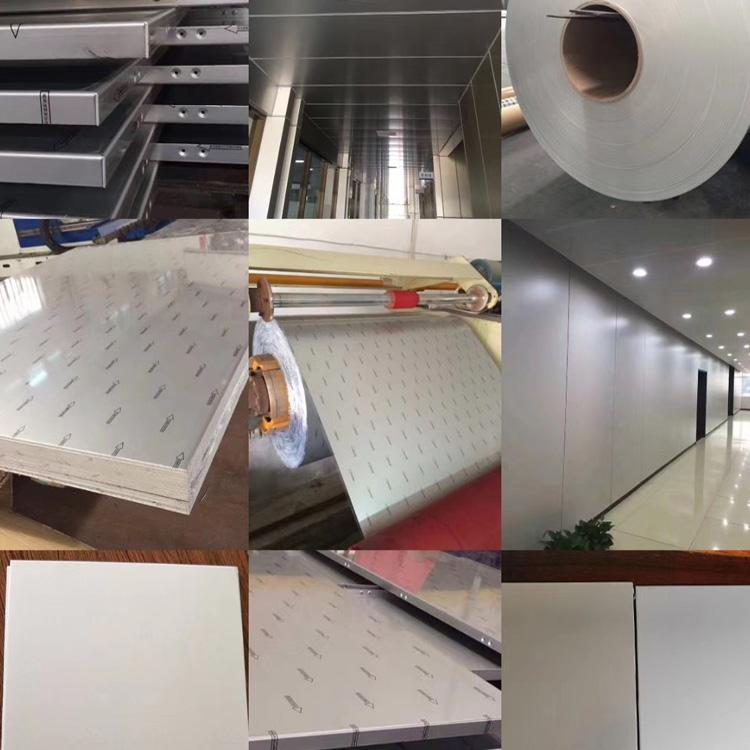普通铝单板市场供应 批发氧化拉丝铝单板