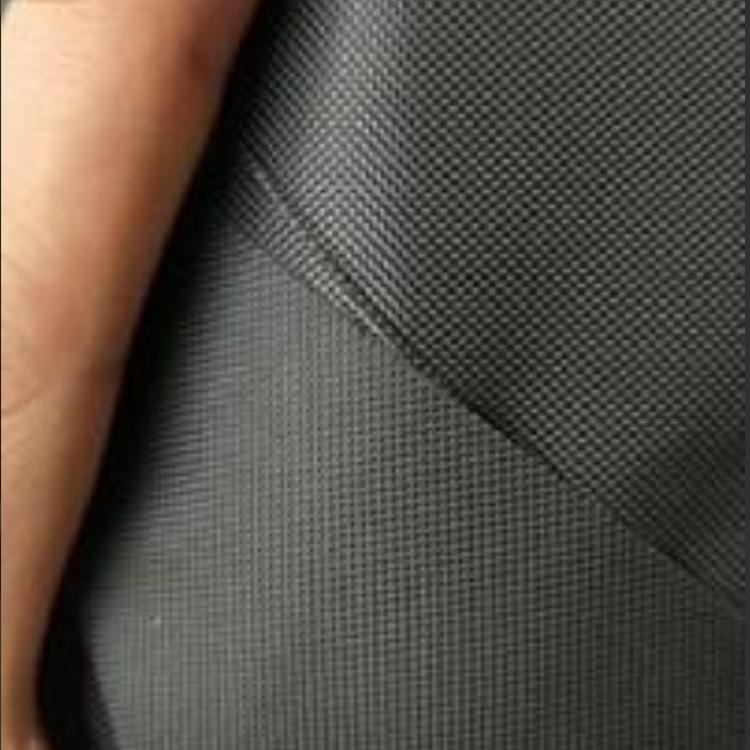 现货供应黑色420D牛津布2*2不掉色固色涂层pv牛津布厂家