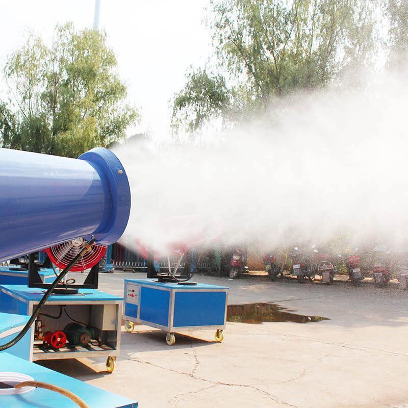 矿联机械高射程雾炮 喷雾机 建筑工地除尘喷雾器
