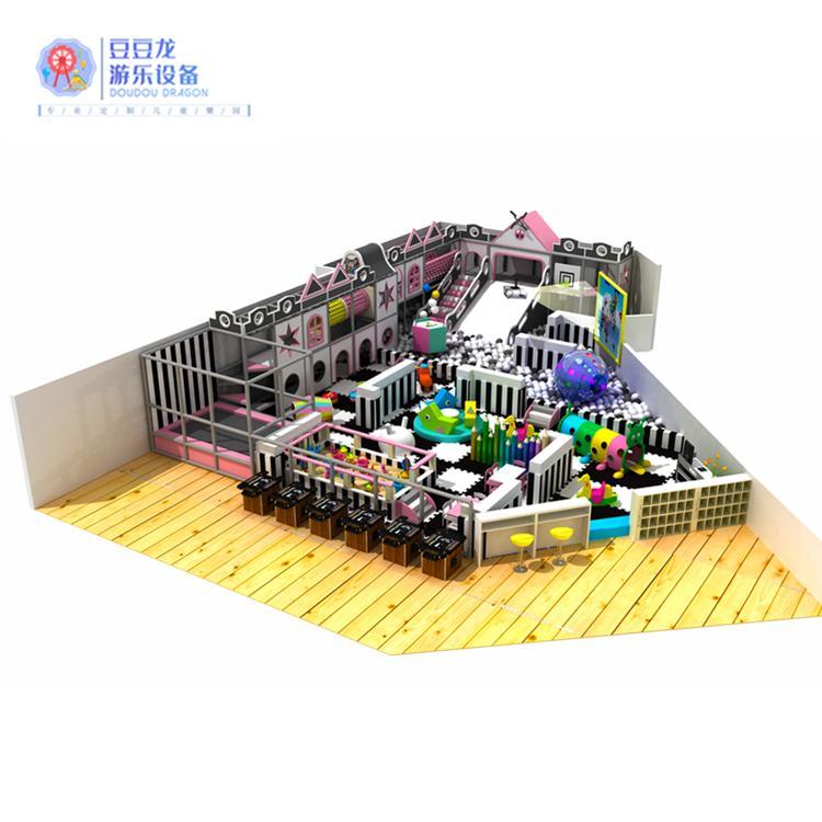 长沙儿童乐园生产厂家 豆豆龙定制