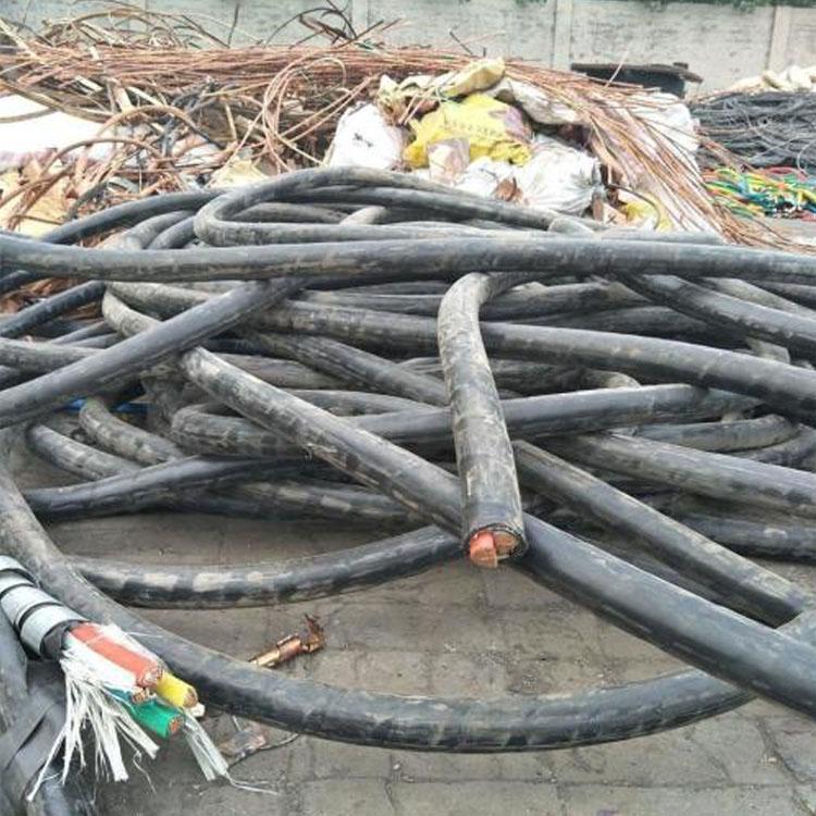 商洛上门回收电线电缆回收废旧电线电缆诚峰物资回收部