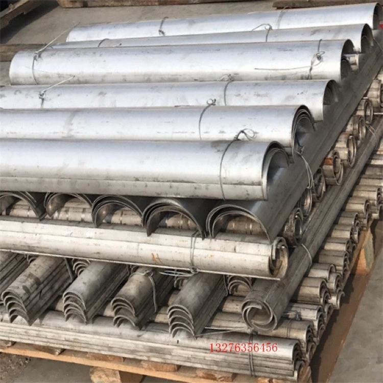 聊城金山特公司不锈钢防磨瓦安装方法科学使用期限长