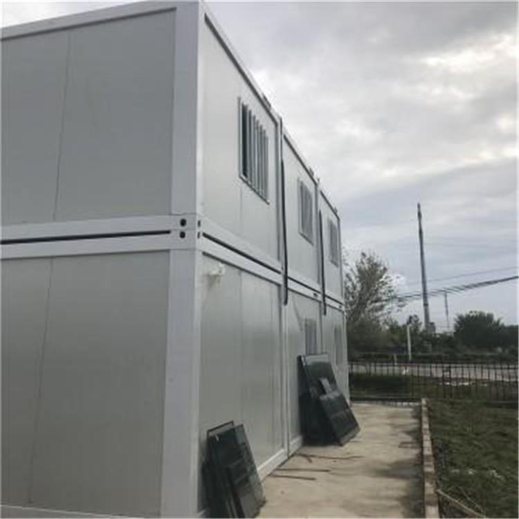 工地住人集装箱房 集装箱房 钢结构房