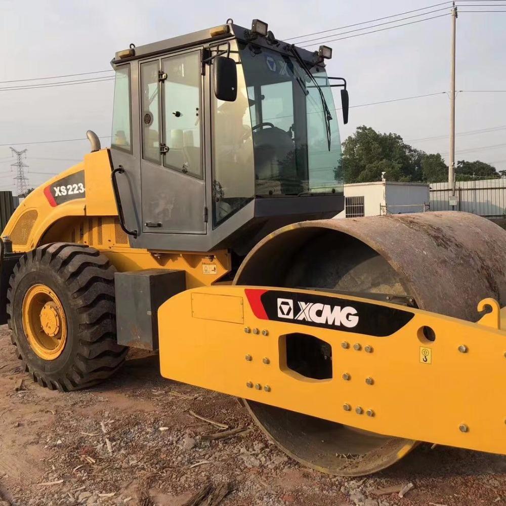 二手徐工22吨震动压路机 徐工XSM222J震动压路机
