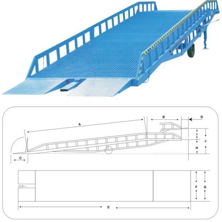 登车桥 移动式登车桥 可牵引移动式登车桥价格可议
