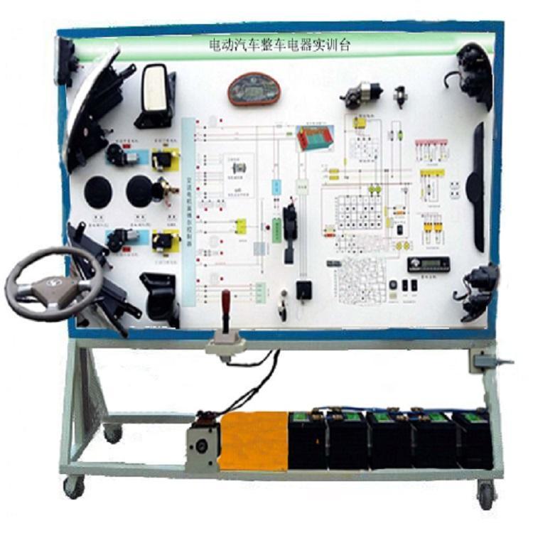 HY-QCX501 电动汽车整车电器实训台-新能源汽车电器综合实训装置