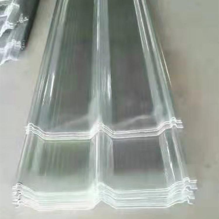 河北冀青阳光板采光板透明采光板厚度规格可定制