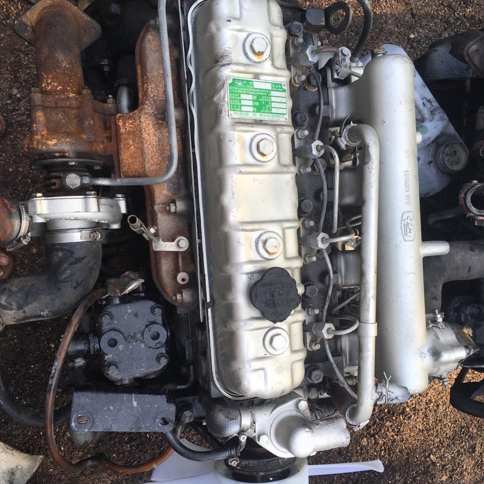 国五云内4102发动机 二手事故发动机总成