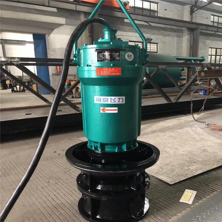 厂家直销小型ZQB潜水轴流泵 ZQB-70-18.5