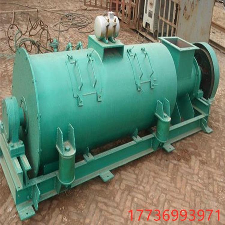 工业粉尘 振动加湿搅拌机 单轴加湿搅拌机 厂家 简体高频振动 噪音低密封严密