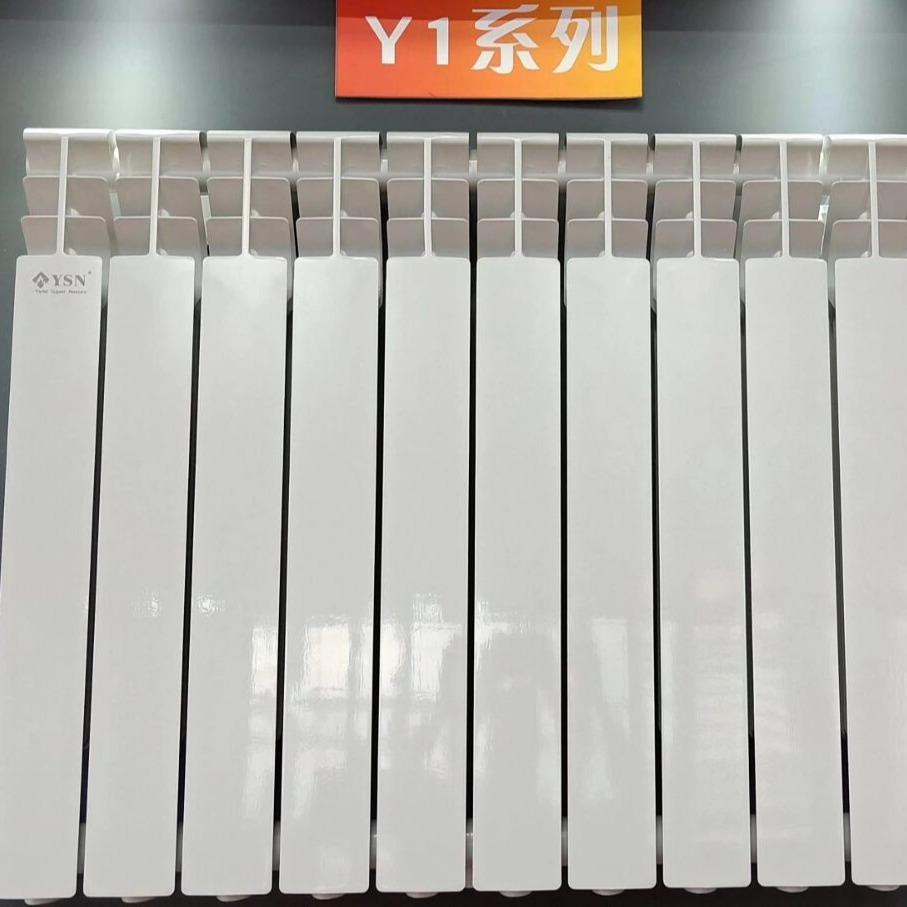 郑州厂家 进口工程家装壁挂炉空气能Y1系列高压铸铝暖气片