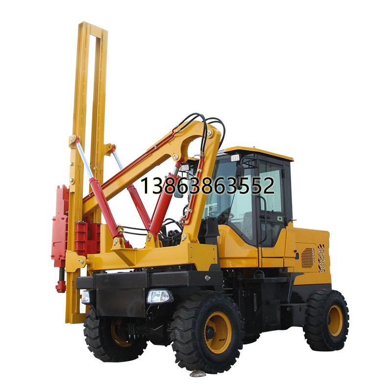 鲁青生产打桩设备厂家 热销公路打桩设备