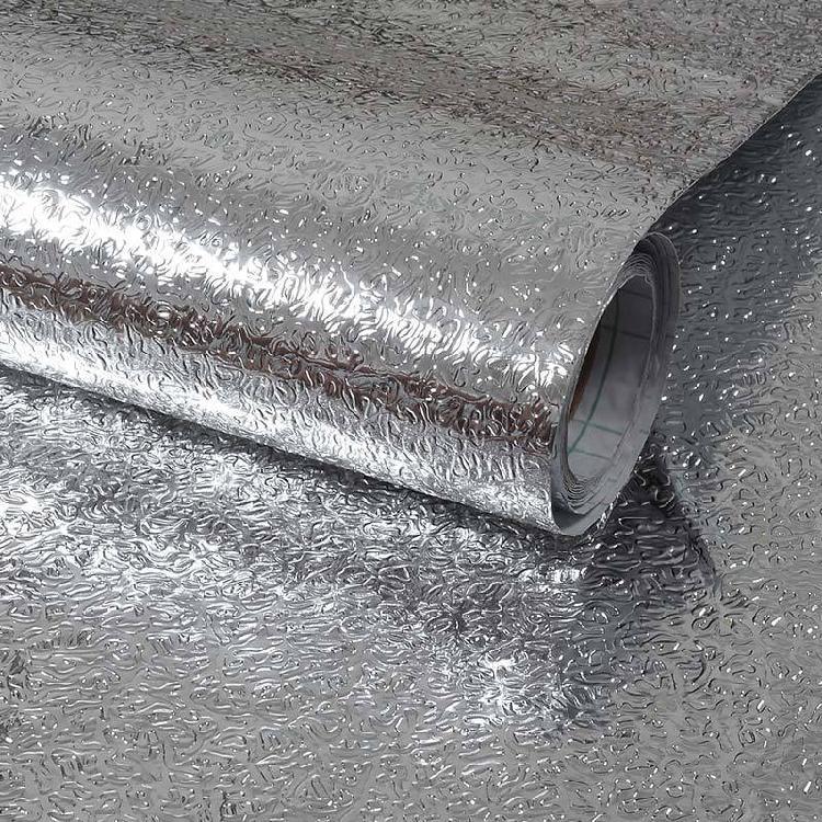 防潮铝箔纸防水厨房防油贴纸瓷砖耐高温