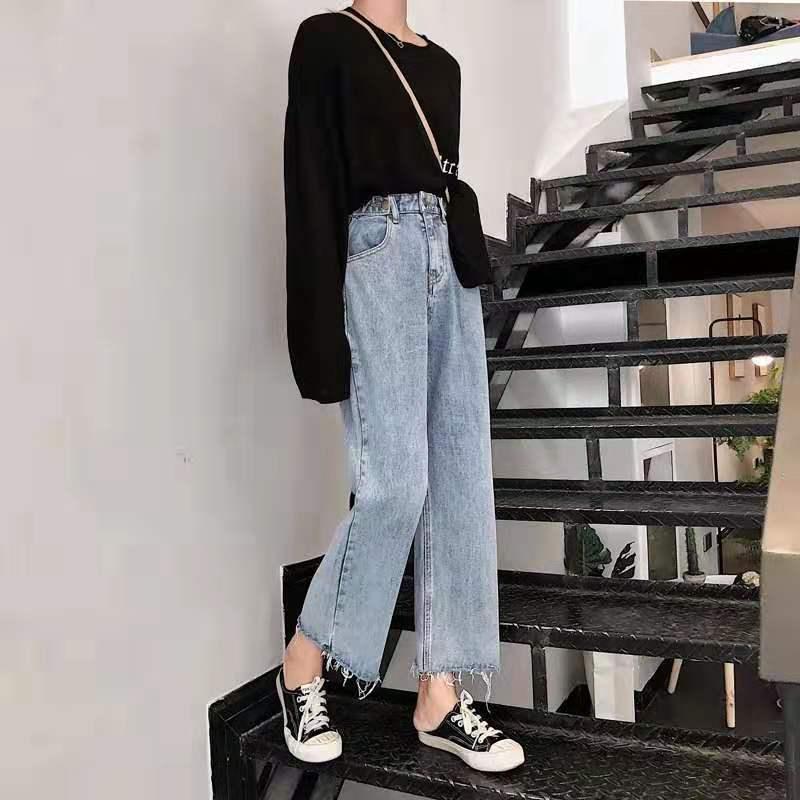 清仓休闲牛仔裤 新款女士服装 杂款杂码女装 库存尾货 便宜牛仔裤清货