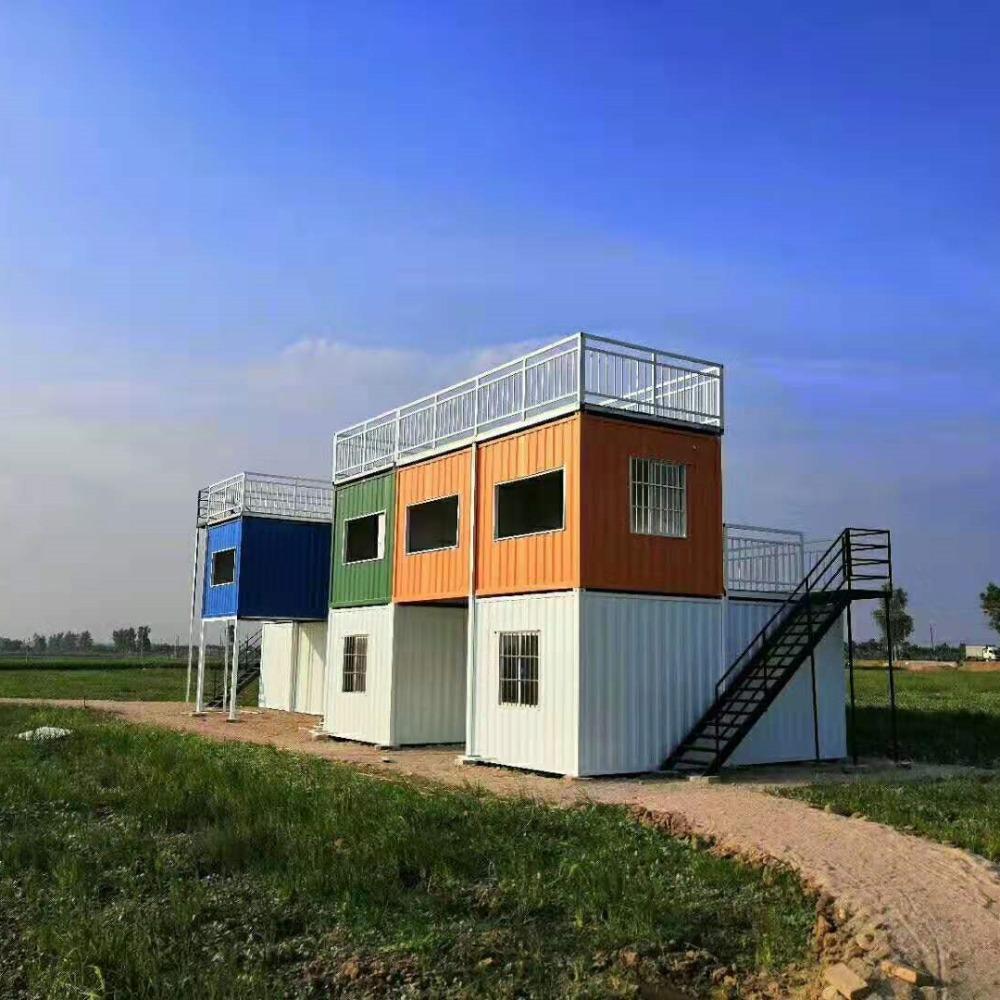 厂家定制 箱大大豪华活动房 钢结构房屋 移动房屋 钢结构住宅JG-168专业定制