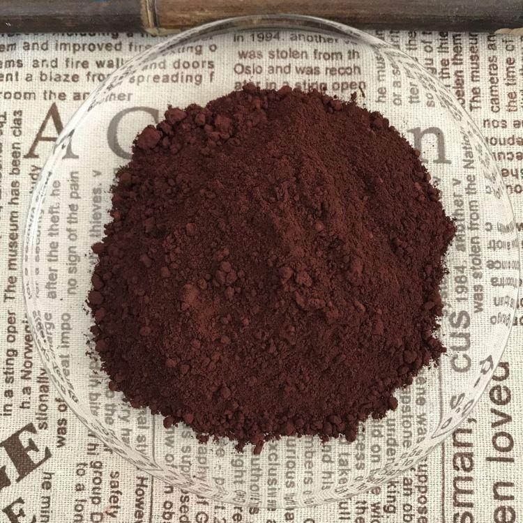 百利联 厂家供应 氧化铁棕 棕色颜料 彩色水泥添加用氧化铁棕 着色剂加工定做