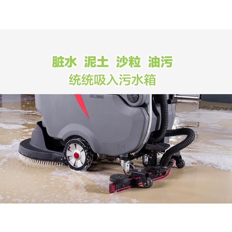 济宁手推式洗地机生产厂家 手推式洗地机 应用范围广