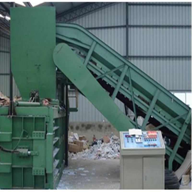 半自动打包机 HPM-125 废纸打包机 南京特云机械厂家专业提供定制服务