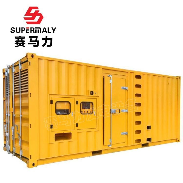 大型沼气天然气发电机 500KW玉柴集装箱式燃气发电机组厂家