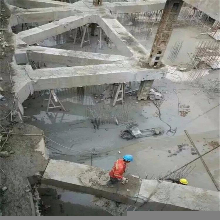 专业承包拆除支撑梁-支撑梁切割-绳锯切割拆除混凝土-施工速度快-安全可靠
