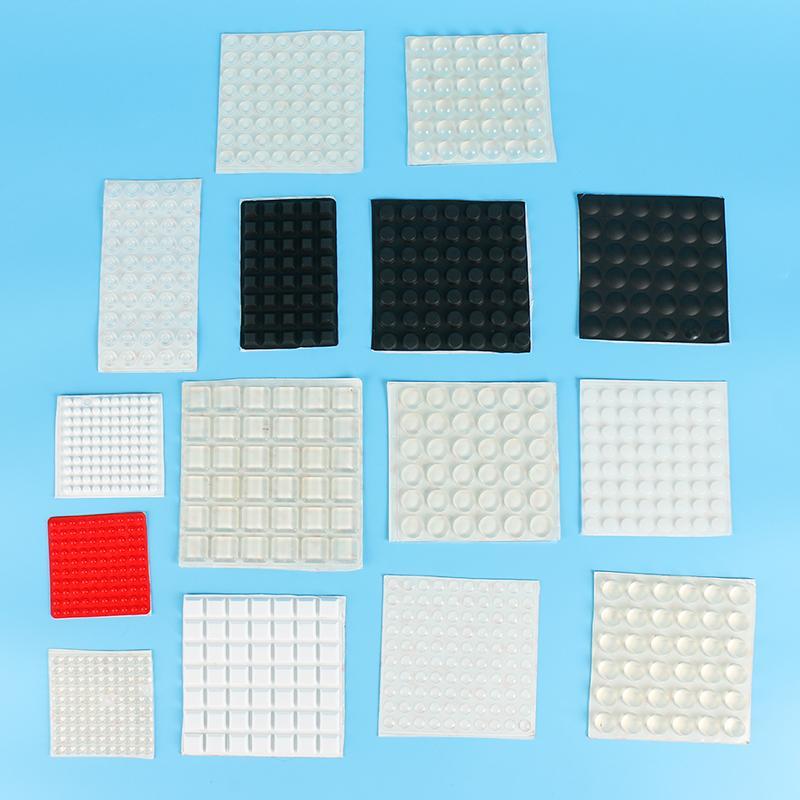 防撞防滑硅胶垫 定制自粘硅胶垫 多种形状规格