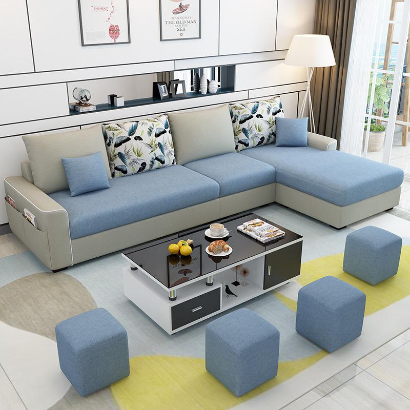 临沂沙发厂家 实木沙发 居家必备 安装方便