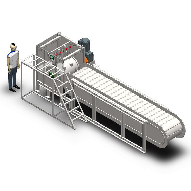 苏州科普森垃圾袋破袋机全程透明收费省钱专业厂家热门推荐品质保障