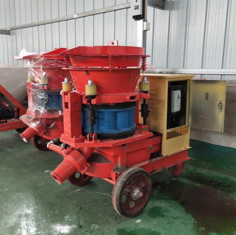 小型湿喷机 煤矿用湿式喷浆机 抹灰喷浆机