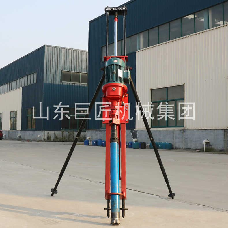 巨匠供应轻便钻机KQZ-70D工程气电联动潜孔钻机