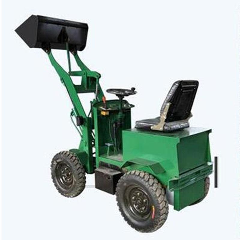 新能源四驱纯电动铲车价格 电动装载机 纳宇 柴油动力小铲车厂家 小型电动推土机
