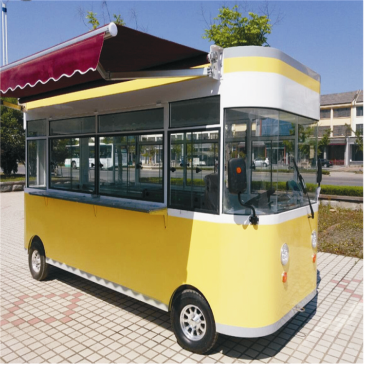 流动电动美食车种类 小型移动餐车类型 同创移动店车