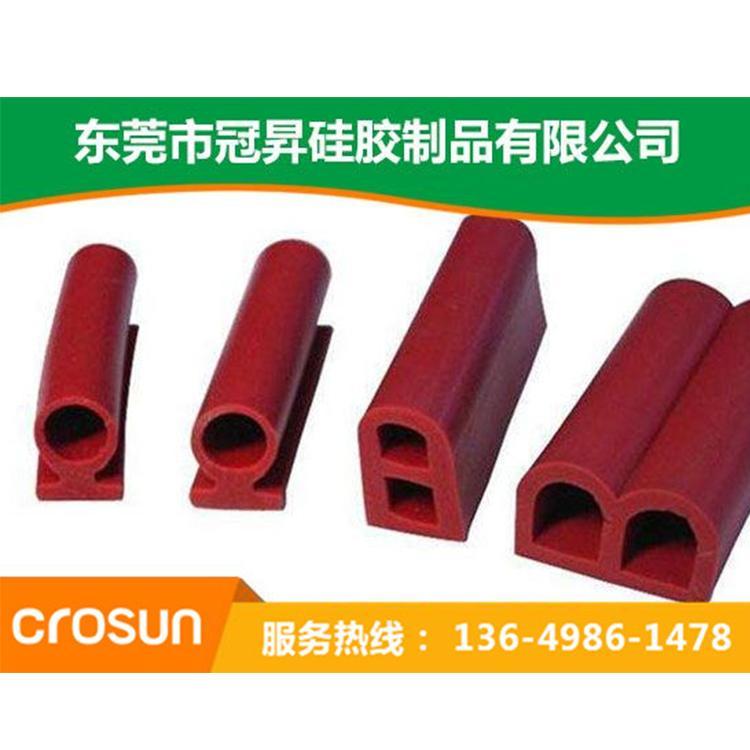 现货供应 硅胶密封防水条 阻燃隔热硅胶管 量大优价