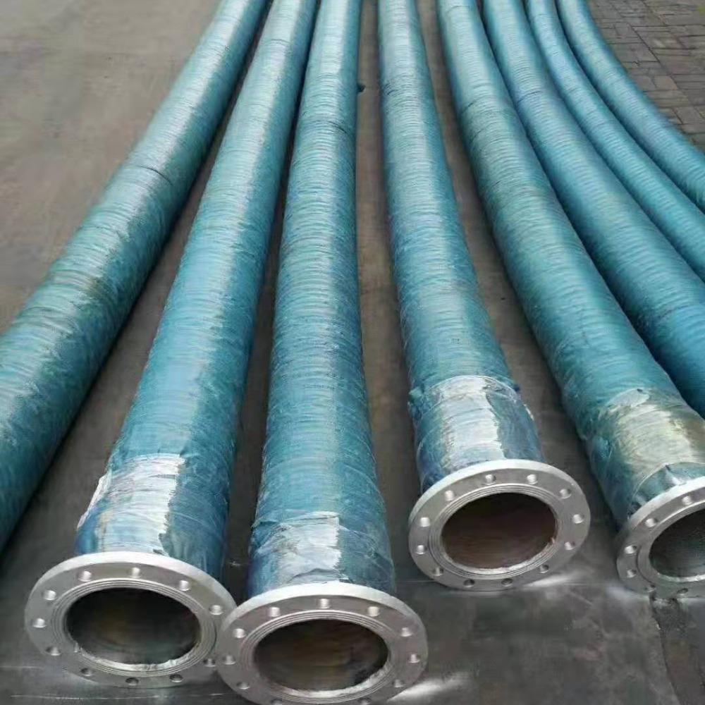 供应各种尺寸 输水夹布大口径胶管总成 高压油管 3寸