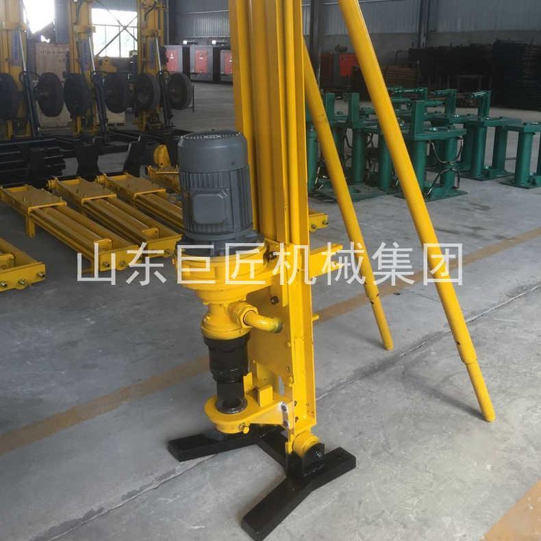 巨匠供应气电联动KQZ-100D支架式电动潜孔钻机