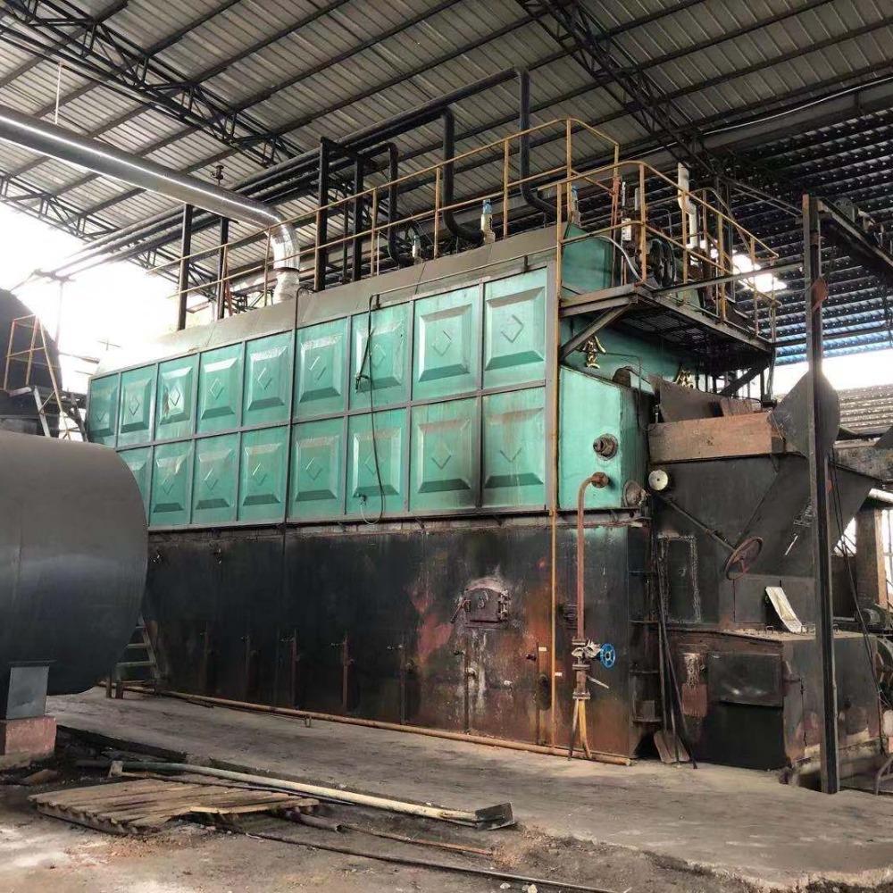 二手锅炉 灿强二手锅炉 20吨燃煤蒸汽吉林二手