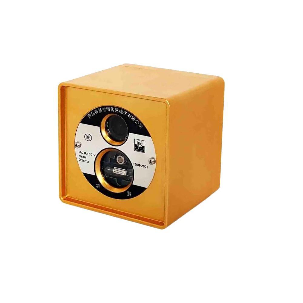 青岛容慧视频一体红紫外复合型火焰探测器 FDUI-2001防爆型火焰探测器