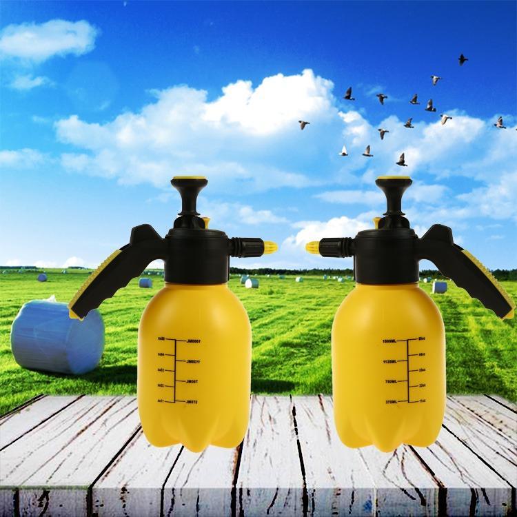 武汉园林手动式自动式喷水壶 1.5L 黄色 绿色可定制喷壶瓶厂家直销