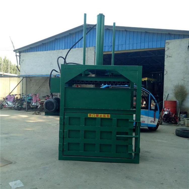 100吨废纸打包机 立式工业垃圾打包机生产厂家