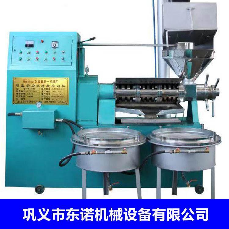 全自动螺旋榨油机 大豆菜籽榨油机 东诺